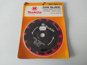 MAKITA rezna ploča 165mm x 20mm, 2,1mm, 14 zuba
