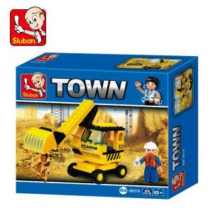 Lego Sluban bager - 62 slagalice