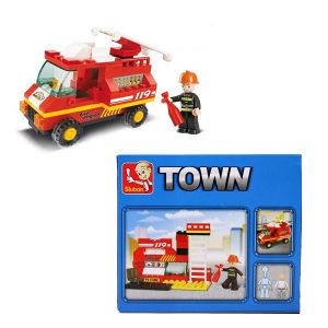 Lego Sluban vatrogasna jedinica - 74 slagalice