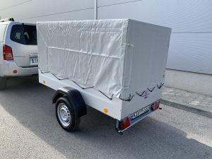 Prikolica za Auto TPV 750kg sa ceradom bruto 750 kg