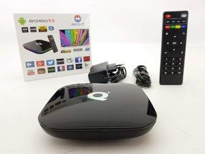 Smart tv box 4gb+64 boks android box KODI PLAYER