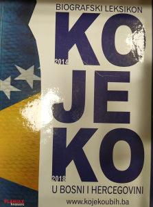 Biografski leksikon KO JE KO  u BIH