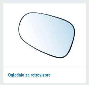 Ogledalo za retrovizore za sve vrste automobila - SILUX