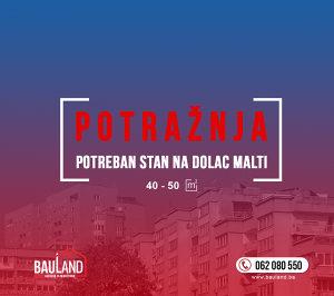 Bauland potražuje stan na Dolac Malti