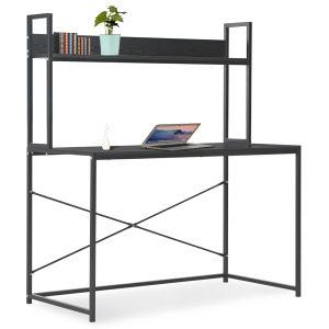 Stol za računalo crni 120 x 60 x 138 cm
