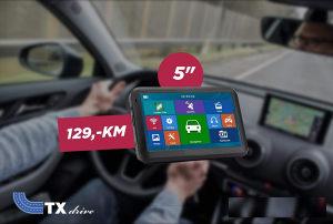 GPS Navigacije TXdrive 5 incha IGO  AUTO, KAMION