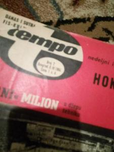 Casopis TEMPO 1966.. svi brojevi