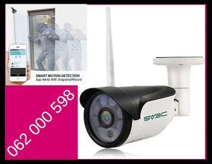 Nadzirite sve preko mobitela - Vanjska kamera SV3C