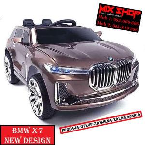 BMW X7 M dječiji/dječji auto/autići akumulator djecu