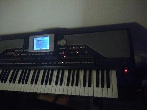 Klavijatura korg pa 800