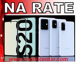 Samsung Galaxy S20 na rate 165 KM