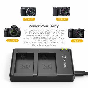 NP-FW50 CREMAX punjač za Sony A6000 A7II A5100