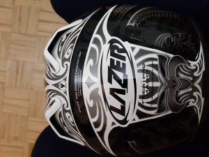 Lazer carbon kaciga L velicina