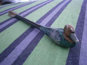 -33% Stara drvena kašika za obuću, patka, RIJETKO