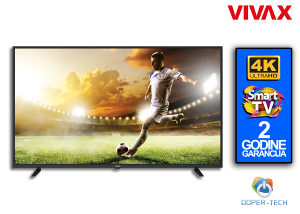 TV Vivax LED 50UHD122T2S2SM 50'' Smart Android