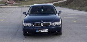 BMW 730 D INDIVIDUAL REGISTROVAN