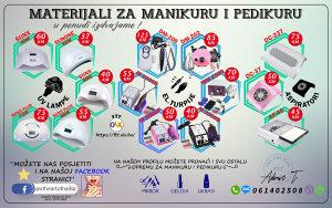 Sve za nokte (el. uređaji, gelovi, pribor, ukrasi)