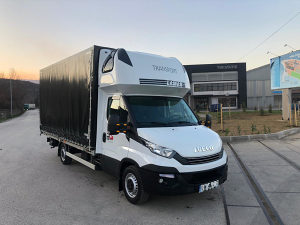Kombi kamion Iveco Daily 35S18 Hi-Matic 2017 Euro6