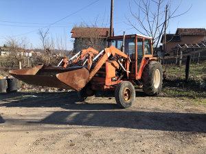 Traktor Farmer Renault 7461 sa kasikom i kabinom