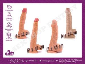 Real Extreme Dildo - razne veličine | SEX SHOP FANTASY