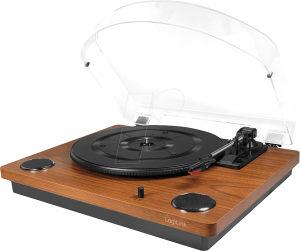 Gramofon Logilink UA0340 drveni sa zvučnicima