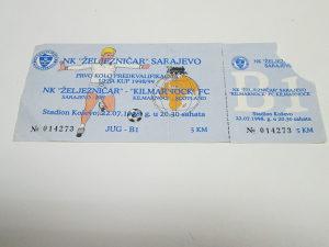 Ulaznica - Željezničar - FC Kilmarnock