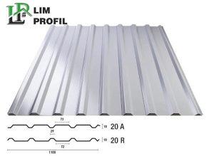 Trapezni lim TR18   Lim u obliku crjepa