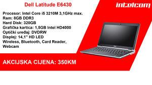 SUPER AKCIJA! Dell Latitude E6430 Core i5 3rd gen.