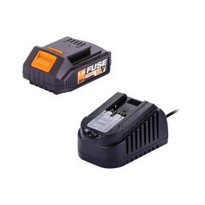 Villager set punjač i baterija FUSE 18V 1.5Ah