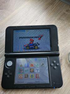 Nintendo 3DS XL Mario kart 7