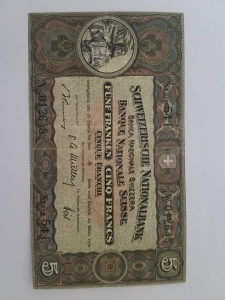 5 Švajcarskih franaka