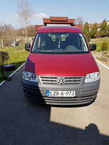Volkswagen Caddy Kedi 1.9 Tdi 77kw