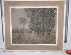 Claude Monet Under the Poplars 66x56 cm Klod Mone