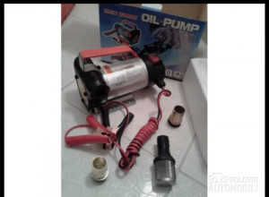 Pumpa za pretakanje ulja 12V