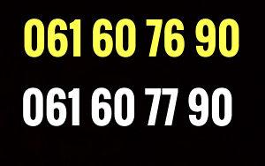 Ultra broj / dva broja / 061 60 76 90, 60 77 90