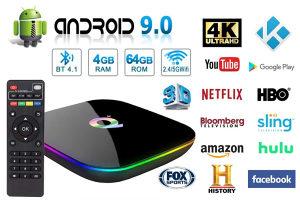 Smart tv box 2020 model 6k