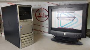 "Računar Pentium 4 // 1GB // 80GB + Dell Monitor 17"""