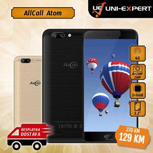 AllCall Smartphone Atom Black/Gold