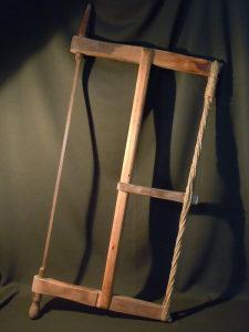Etno stara stolarska drvena testera - zaga