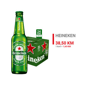 Heineken pivo 0,33l 1/24 020010