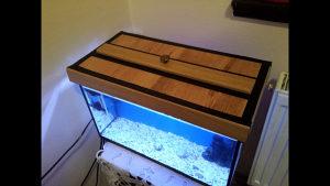 Akvarijum sa opremom i ribicama