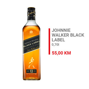 Johnnie Walker Black Label Whisky 0,7l 000081