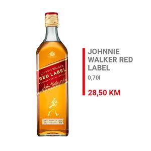Johnnie Walker Red Label Whisky 0,7l 000002