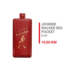 Johnnie Walker Red Label Whisky Pocket 0,2l  000191