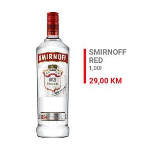Smirnoff vodka 1l 000033