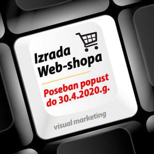 Poseban popust za izradu Web-shopa