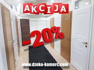Akcija Sobnih Vrata 20%