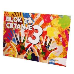 Blok za crtanje br.3 440020