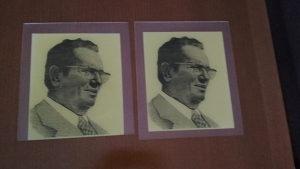 Josip Broz Tito slika ugravirani plesiglas slike