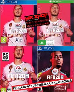 FIFA 20 2020 na CD-u za PC, Xbox One, Playstation 4 PS4